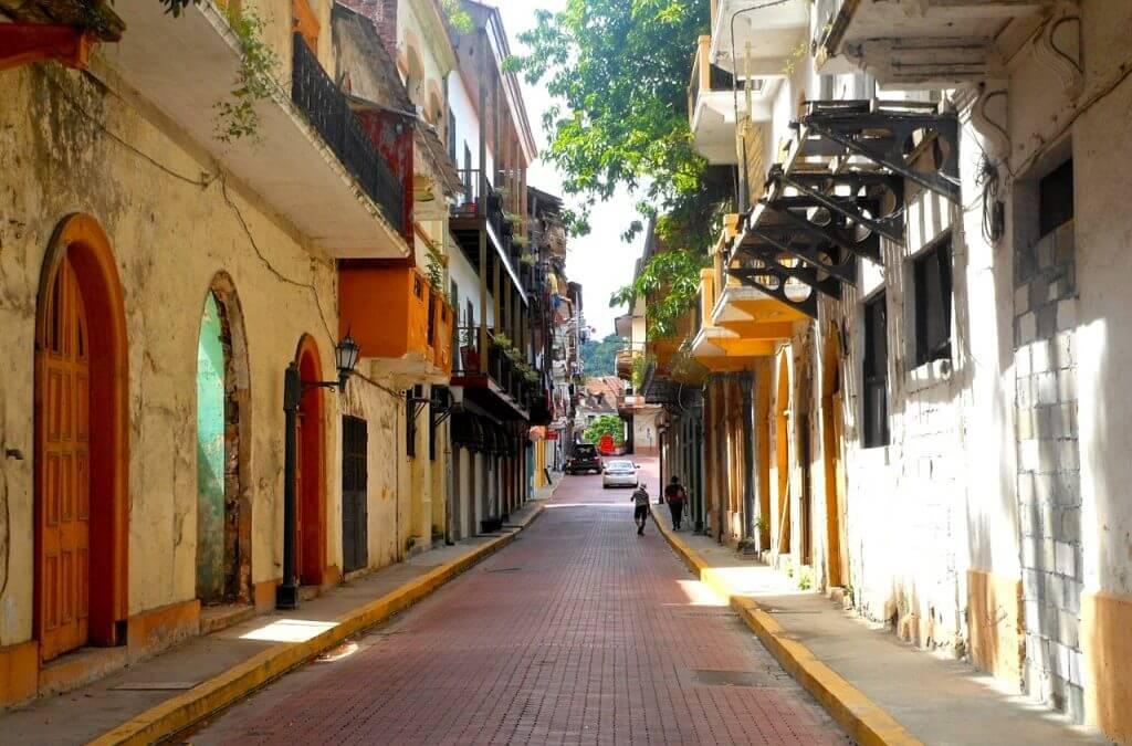 Edificios históricos en Panamá