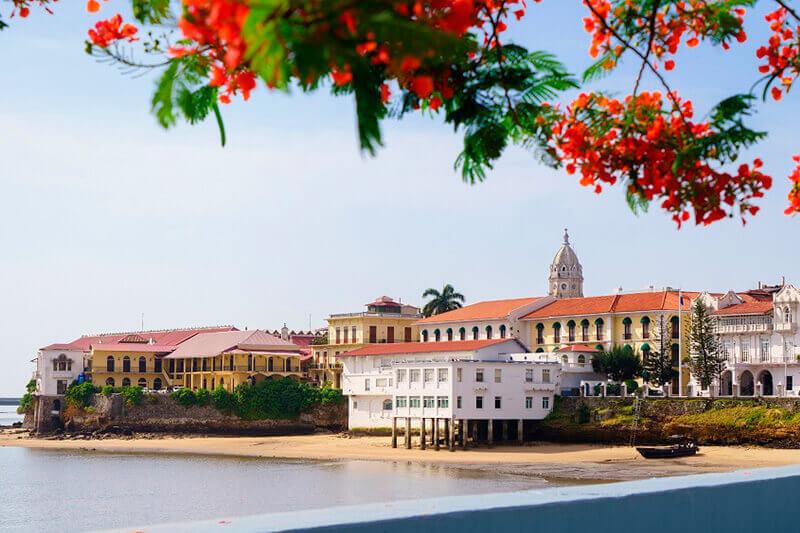 Casco histórico en Ciudad de Panamá